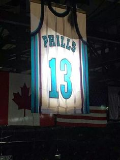 The Charlotte Hornets pays tribute to the late Bobby Phills 18807405a