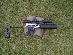 Arrow shooting Crosman 1377 pcp mod