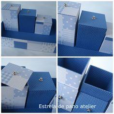 Kit higiene menino - patch azul