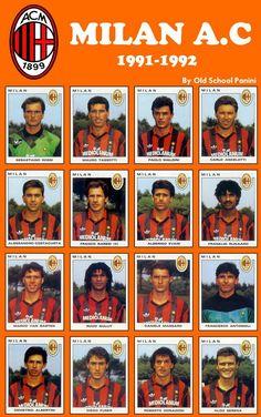 AC Milan 1991-92 #talent