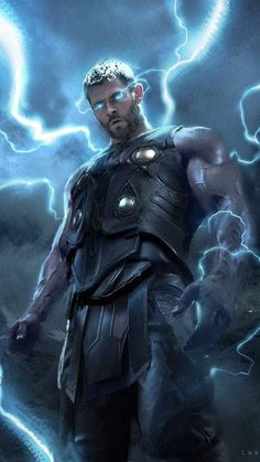 Thor God of Thunder - iPhone Wallpapers