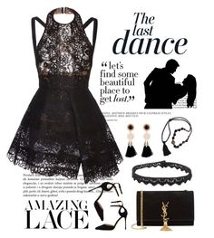 """The Last Dance"" by conch-lady ❤ liked on Polyvore featuring Anja, Elie Saab, Sergio Rossi, Yves Saint Laurent, Salsa, Jade Jagger, women's clothing, women's fashion, women and female"