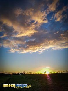 Abendstimmung im März Celestial, Sunset, Outdoor, Tours, Hiking, Outdoors, Sunsets, Outdoor Games