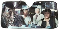 Purchase Chewbacca, Luke Skywalker, Obi-Wan Kenobi and Han Solo from Star Wars Authentics. Millenium, Millennium Falcon, Saga, Star Wars I, Star Wars Website, Alec Guinness, Car Sun Shade, Episode Iv, Original Trilogy