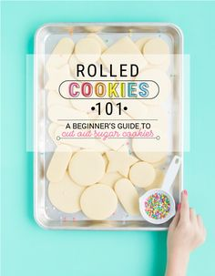 Rolled Cookies 101! Cookie decorating beginners this is the post for you. Rolled Cookies 101 has everything you need to know to make beautiful and yummy sugar cookies. No chill! I The Sprinkle Factory