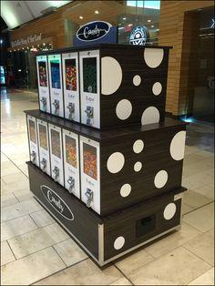 Polka Dot Gumball Merchandising at the Mall – Fixtures Close Up Simple Minds, Gumball, Polka Dots, Polka Dot, Dots, Bubble Gum, Polka Dot Fabric