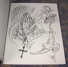 religious tattoo drawings | Com Abey Alvarez Abey Religious Reference And Sketches Book 1 Design ...