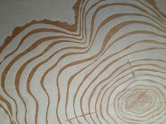 diy tree ring plywood art