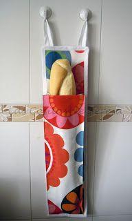Bolsa para mantener el pan fresco #Singer #amocoser #yolohice