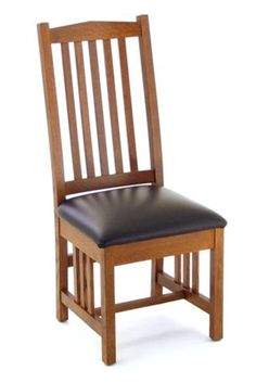 Amish California Mission Dining Room Chair