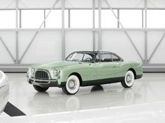 1953 Chrysler Special Coupe by Ghia 180 bhp, 331 cu. in. OHV Hemi V-8 engine, two-speed PowerFlite automatic transmission, independent front suspension with coil springs, live rear axle with semi-elliptical leaf springs, and four-wheel hydraulic drum brakes. Wheelbase: 125.5 in.
