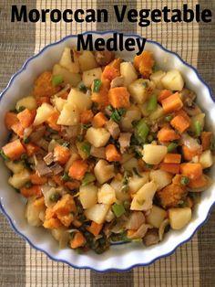 Moroccan Vegetable Medley (Weight Watcher Friendly) |
