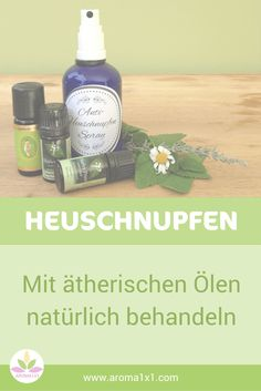 Heuschnupfen mit ätherischen Ölen natürlich behandeln Essential oils can help alleviate hay fever symptoms and regulate the immune system. Here are some recipes and tips on how to treat hay fever with essential oils. Allergy Asthma, Anti Allergy, Doterra, Natural Asthma Remedies, Natural Disinfectant, Flu Like Symptoms, For Your Health, Health And Safety, Homemade Cosmetics