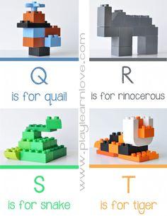 Duplo Animal Alphabet Q – T