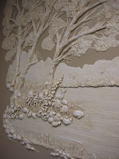 Architectural Relief,Plaster High Relief, Wall sculpture,Sculpted Wall Panel,Sculpturesque Painting, Sculpted Walls, High Relief, Bas Relief