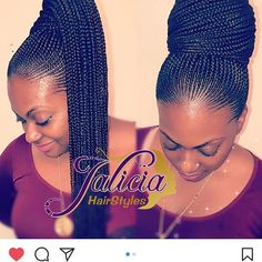 Top Creative Cornrow Hairstyles The Best Ones Of 2018 You Should Try This Year is part of braids - Imagine if we lived in a world where we didn't have to style our hair every day, we had a hairstyle we loved and it lasted for months o Box Braids Hairstyles, Braided Ponytail Hairstyles, My Hairstyle, African Hairstyles, Girl Hairstyles, Cornrow Ponytail, Braided Ponytail Black Hair, Black Cornrow Hairstyles, Cornrows With Box Braids