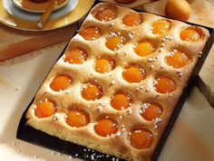 Diabetikus sárgabarackos sütemény Recept képpel - Mindmegette.hu - Receptek Apricot Cake, Eastern European Recipes, German Cake, Cake & Co, Turkish Recipes, Easy Cake Recipes, Summer Desserts, No Bake Cake, Good Food