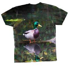 AnimalShirtsUSA- Handsome Duck -Tagless- Mens Shirt | eBay