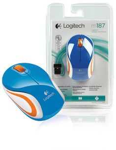 Mouse LOGITECH Wireless M187 RESMI