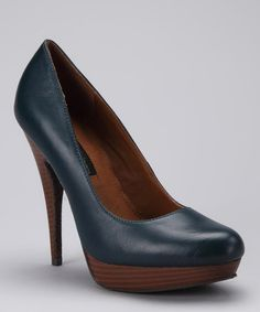 Take a look at this Cobalt Emily Pump by Calvin Klein Jeans on #zulily today! Broken ankle time but oh so cute.