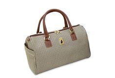 Yay for new luggage.   Chelsea Lites Satchel, Olive Plaid on OneKingsLane.com