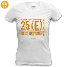 bequemes Damen Girlie T-Shirt Motiv Ich bin nicht 30 ideales Geschenk Präsent Frau cooles Geburtstag Jahrgang Altersgruppen Shirt Farbe: weiss Gr: XXL (*Partner-Link)