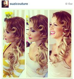 Gorgeous hair do by @Suzicouture via Instagram