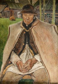 Władysław Jarocki - Studium górala III, ok. 1914