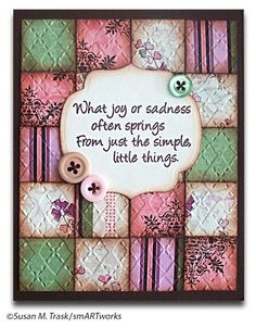 quilted cards - Google Search