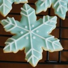 The Best Rolled Sugar Cookies •2 3/4 cups all-purpose flour  • 1 teaspoon baking soda  • 1/2 teaspoon baking powder  • 1 cup butter, softened  • 1 1/2 cups white sugar