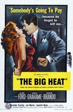 the big heat movie poster | The Big Heat;1953; movie poster
