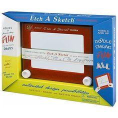 Classic Etch A Sketch 1960 Box