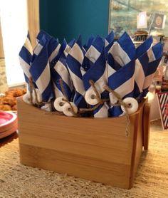 Nautical Baby Shower- Cutlery wrap