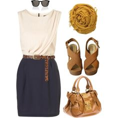 Classy outfit for work!  | followpics.co