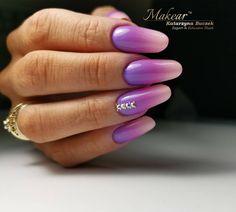 Rose Nails, Gray Nails, Nail Polish Designs, Nail Designs, Oval Shaped Nails, Aga, Fun Nails, Girly, Nail Art