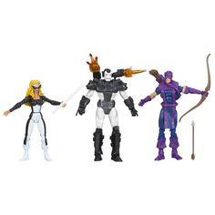 Marvel Universe The West Coast Avengers Figure 3-Pack 3.75 Inches. Mocking-Bird, War Machine, and Hawkeye variant (arms). Hasbro,http://www.amazon.com/dp/B009Z1K4U6/ref=cm_sw_r_pi_dp_qkLysb0EEKNK6WGB