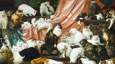 Carl Kahlers kattmålning från 1891 såldes för över 7 miljoner kronor.