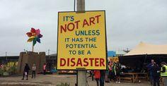 Banksy: il giorno di apertura di Dismaland non c'era nessuno più deluso di me — parla Banksy (intervistato da un tabloid britannico, tradotto da Bizzarro! in italiano)