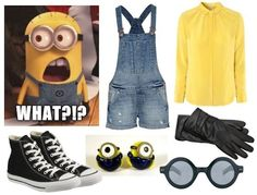 homemade pixar costumes | Mostly B's: Comedic – Minion from Disney Pixar's Despicable Me by yvette