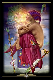 Oracle of Visions:  I love all of Ciro Marchetti's work and already own one of his decks... hpe to get this one soon