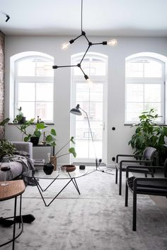 Interior Design Gravity Home: Scandinavian Home with Exposed Brick Scandinavian Apartment, Scandinavian Interior Design, Scandinavian Home, Nordic Design, Style At Home, Swedish Farmhouse, Gravity Home, Exposed Brick Walls, Interiores Design