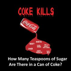 How Many Teaspoons of Sugar Are There in a Can of Coke?
