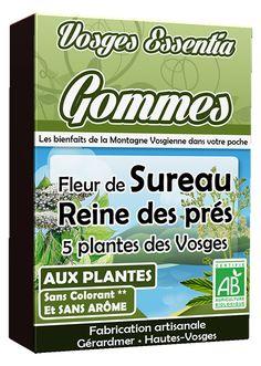 Gommes bio aux plantes des Hautes Vosges