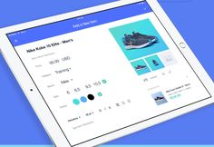 Form UI animation on tablet.  The Best Interface Animation by Yalantis on Behance
