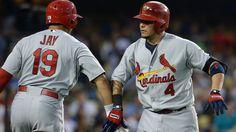 Yadi sad about Cardinals trading Jay, Cruz: 'Maybe I'm next' Stl Cardinals, Yadier Molina, Baseball 2016, Jay, Sports, Business, Tops, Hs Sports, Store