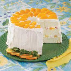 Angel Food Flag Cake | Cuisine, Food_Art, Decor, Bake goods Delight ...