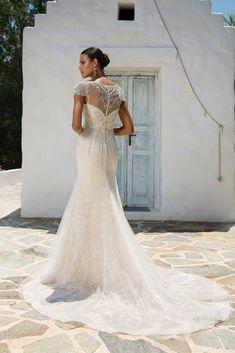7ff59c06edc1 Justin Alexander 8958 Back (Perth) Wedding Gowns With Sleeves, Cream Wedding  Dresses,