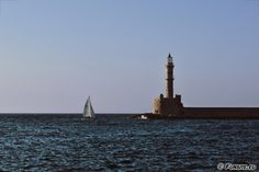 Egyptian lighthouse, Chania, Crete by Gerhard Hoogterp
