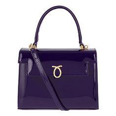 Judi baby blue handbag Launer London eaZJM9jT