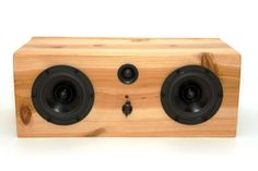 Hand Crafted Bluetooth Speaker System - Big Pine Box by Salvage Audio | CustomMade.com